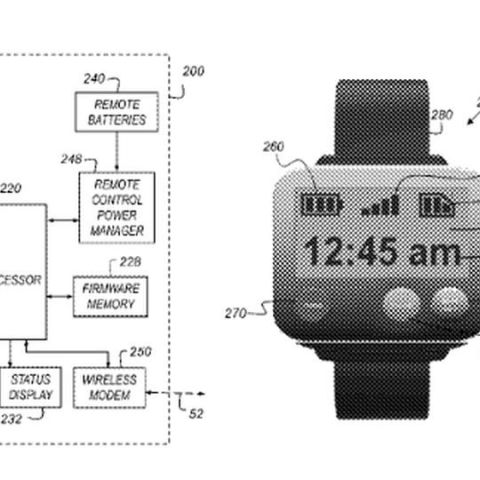 Apple patents wireless action camera, wrist-based remote control