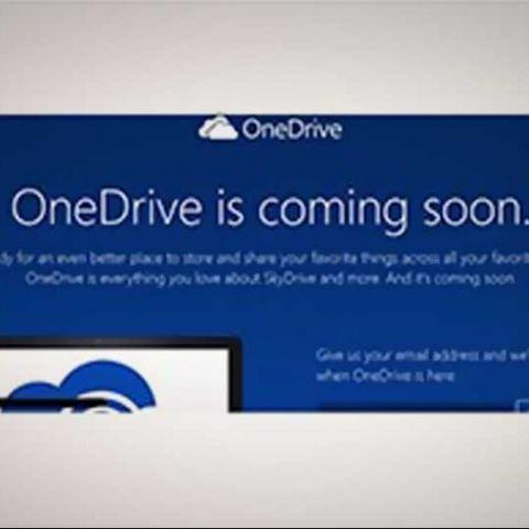Microsoft rebrands SkyDrive as OneDrive