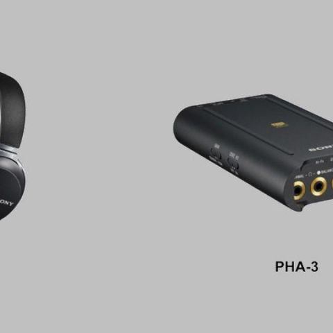 Sony launches MDR Z7 headphones, PHA-3 amplifier