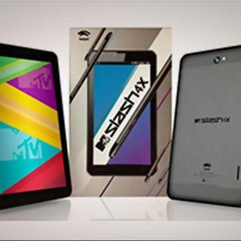 Swipe MTV Slash 4X, 7-inch dual-SIM quad-core tablet launched at Rs. 9,999