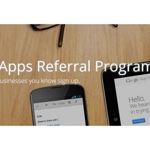 Google Apps Referral Program launched in India