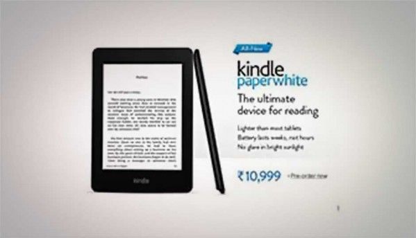 New Amazon Kindle Paperwhite e-readers up for pre-order online