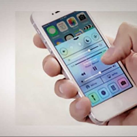How to use the Control Centre in iOS7
