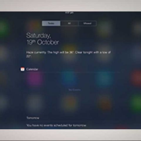 How to use the Notification Centre in iOS7