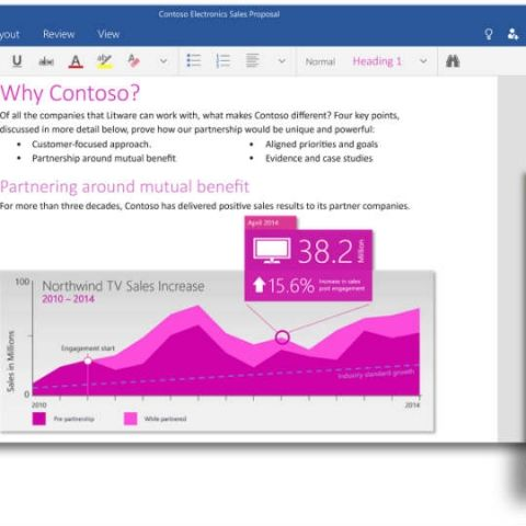 Microsoft launches free Office apps for Windows 10