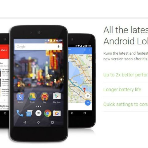 Android 5.1 exists and it's coming to Android One phones