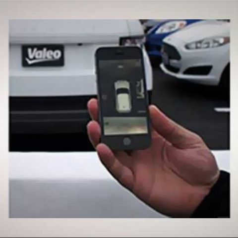 CES 2014: Valeo demos iPhone-controlled self-parking system
