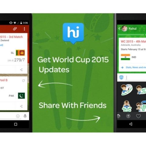 Hike ties up with CricBuzz to bring World Cup updates to its users