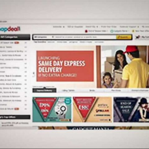 68aca2f92 Snapdeal launches same day  Express Delivery  service