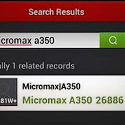Micromax Canvas 5 A350 with octa-core processor and full HD display rumoured