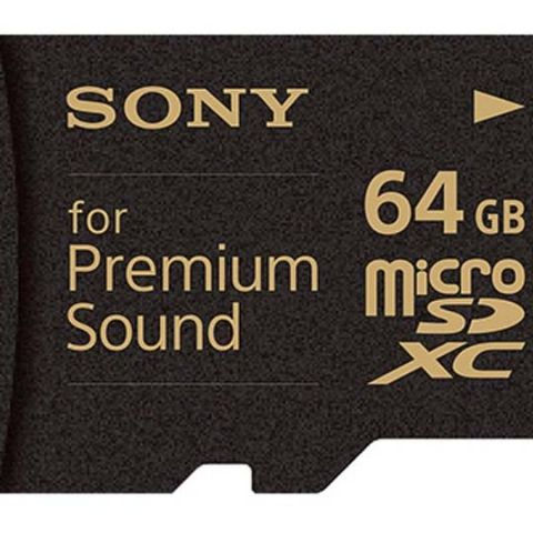 Sony is trying to sell a $160 64GB microSD card to music buffs