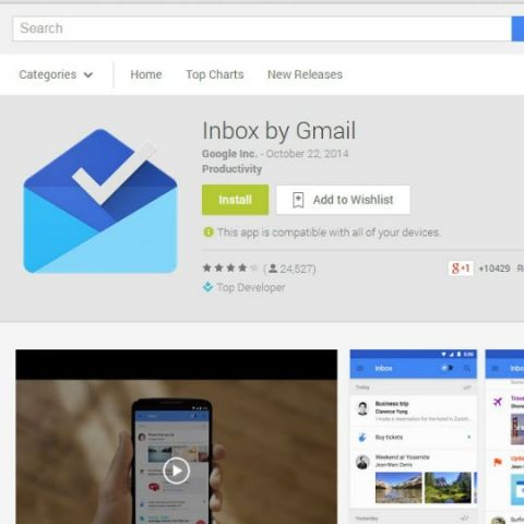 Google to offer Inbox to business users from next month