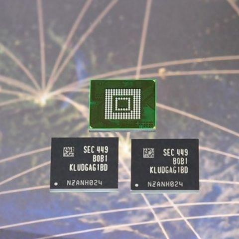 Samsung unveils 128GB Universal Flash Storage for smartphones