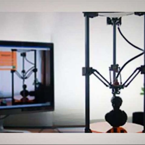 Deltaprintr: A new affordable 3D printer developed by a US college student