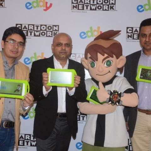 Eddy and Cartoon Network launch new tablets for kids in India