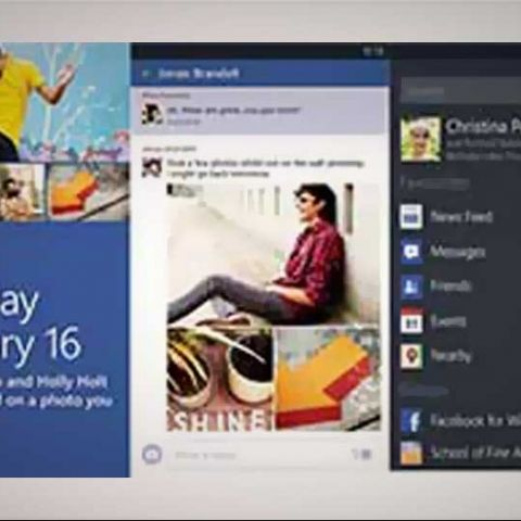 Facebook for WP8 updated; lets you pin chat, events and albums to home screen