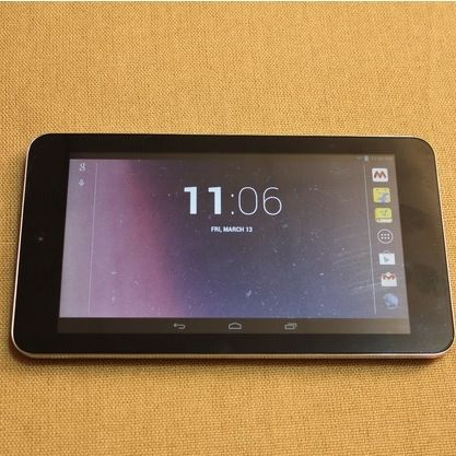 A closer look at the Digiflip Pro ET701 Android tablet, priced at Rs. 3,999