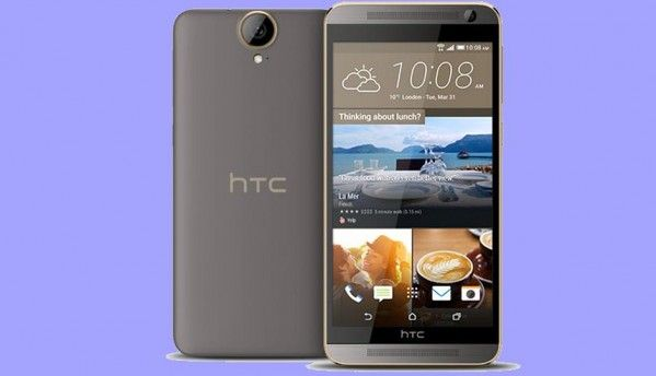 HTC One E9+ octa core smartphone listed on the company's website in China