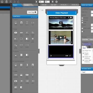 HTML5 Web App Using Intel XDK