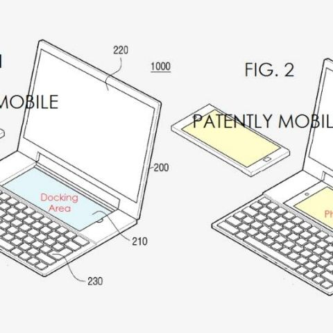 Samsung patent reveals dual-OS notebook with a phablet dock