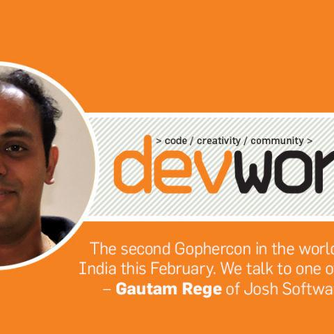 Devworx talks to Gautam Rege about Gophercon India