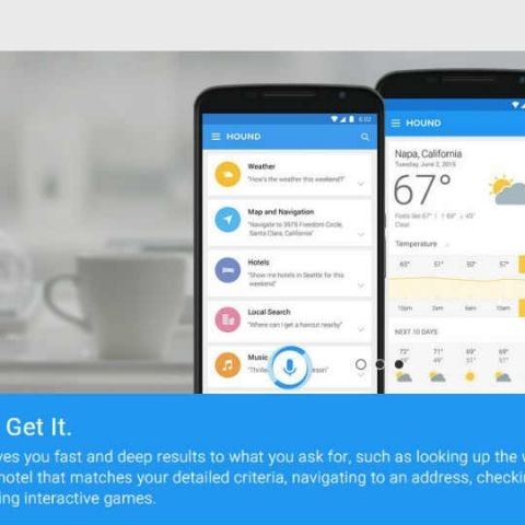 SoundHound's Hound app is showing up Google Now, Siri and Cortana