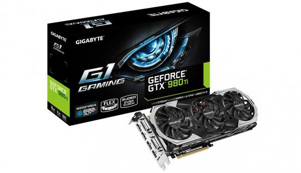 Gigabyte announces the next-gen GeForce GTX 980Ti G1 Gaming graphics card