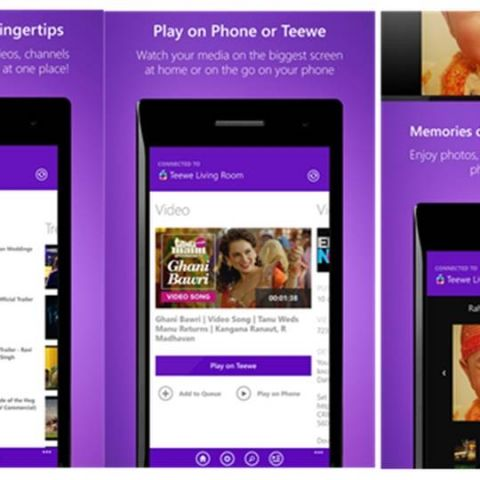 Teewe is now available for Windows Phone Users