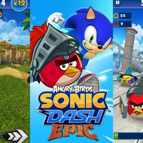 Sonic Dash gets Angry Birds cameos