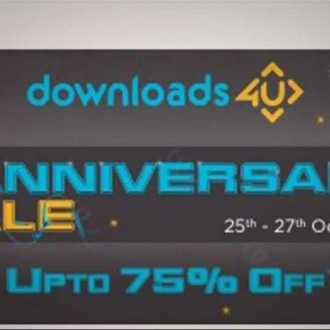 Downloads4u sale offers up to 75% off on popular games