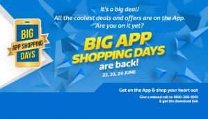 Top 15 deals on Flipkart's Big App Shopping days