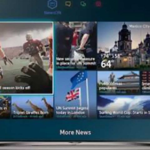 Yahoo NewsON to be available on Samsung Smart TVs