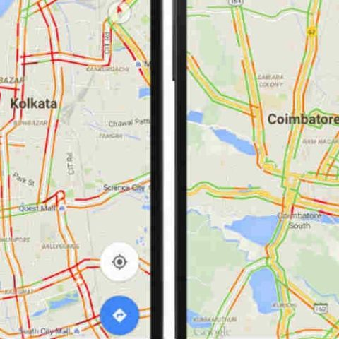 Google Maps introducing real-time traffic updates to more cities in on