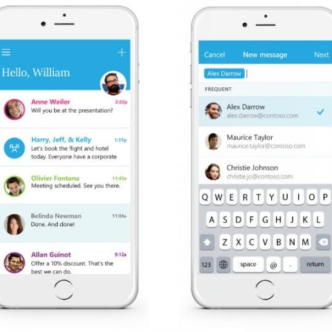 Microsoft debuts Send, an Email client app with instant messaging for iPhone