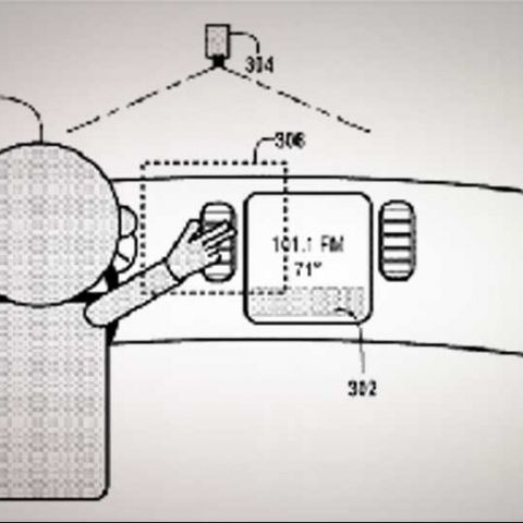 Google working on in-car gesture controls; files patent