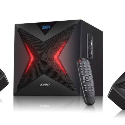 F&D introduces F550x 2.1 Bluetooth speaker for Rs. 4,290