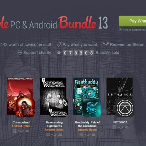 Three games added to the Humble PC and Android Bundle 13
