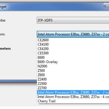Intel(R) System Studio Developer Story : With Intel ® JTAG