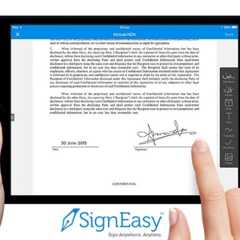 App of the Week: SignEasy