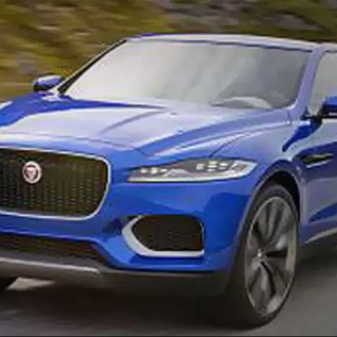 Jaguar C-X17 Crossover shows off telematics system and new aluminum architecture