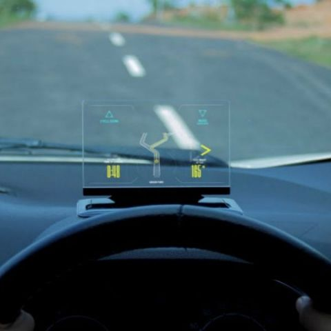 Exploride, Inc raises over $500,000 for its heads-up display