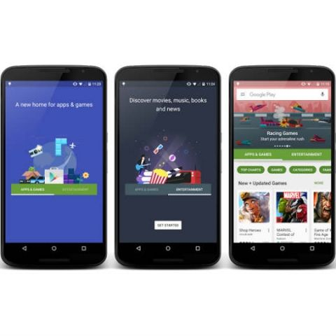 Google Play Store set for redesign