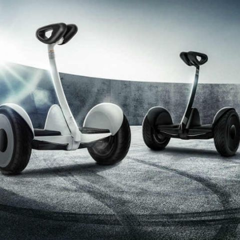 Xiaomi launches Ninebot Mini, a self-balancing two-wheeled vehicle