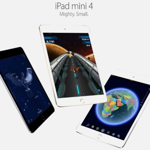 Apple iPad mini 4 available in India, prices start at Rs. 28,900
