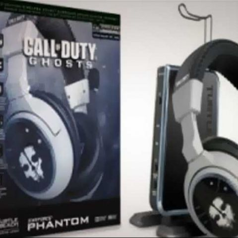 Call of Duty: Ghosts limited edition Turtle Beach headsets unveiled