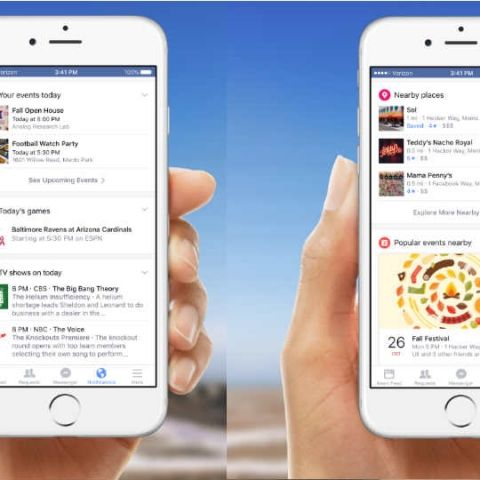 Facebook revamping notifications for iOS and Android