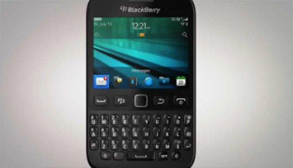 BlackBerry 9720 announced with BB OS 7.1 and QWERTY keypad