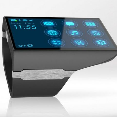Rufus Cuff, a giant Android tablet for your wrist