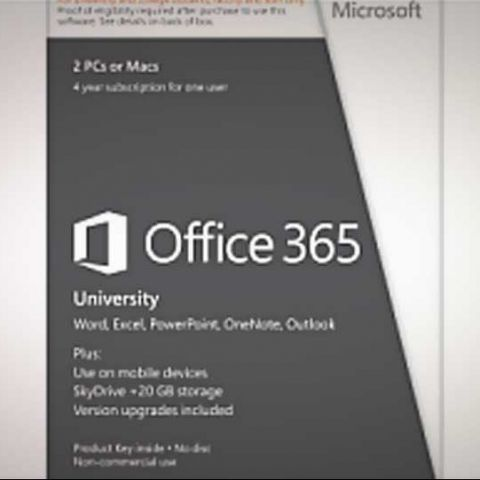 Office 365 University launched in India at Rs. 4,199 (4-year subscription)