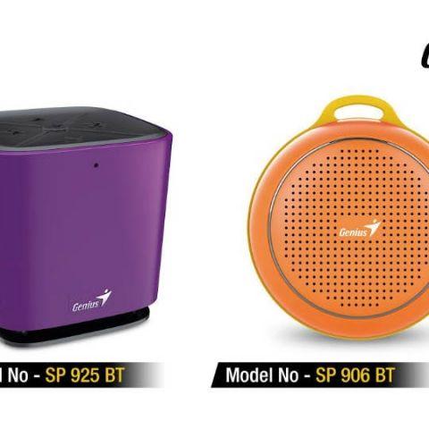 Genius launches SP-925BT and SP-906BT Bluetooth speakers